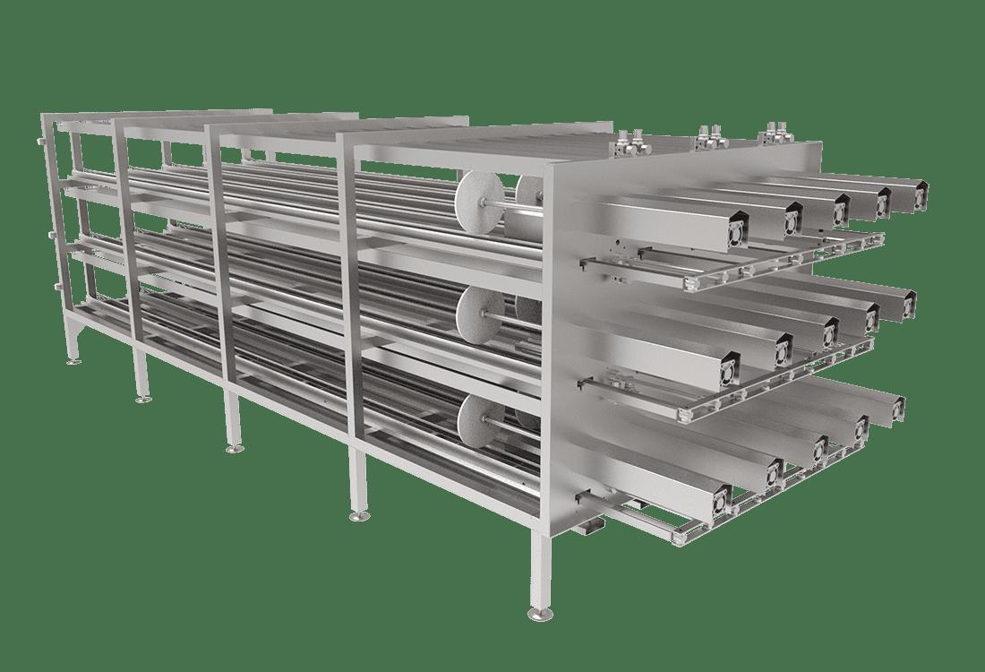Sistema de prensado horizontal